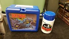 1991 Thermos Brand BATMAN Lunchbox w/ Thermos Plastic