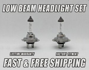 Stock Fit Halogen FRONT LOW BEAM Headlight Bulb For Porsche Boxster 1997-2016 x2