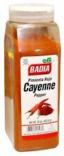 Badia Cayenne Pepper Ground Powder/ Pimienta Roja Molida en Polvo 16 Oz
