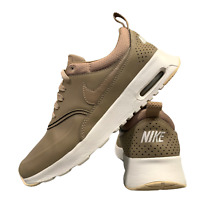 Nike Air Max Thea Women's Shoes Size Uk 4 Brown White Running Trainers EUR 37.5