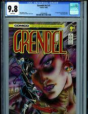 Grendel V2 #1 CGC 9.8  Comico Comics 1986 1st Christine Spar Amricons K21