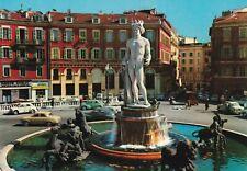 cartes postales , france , nice , la fontaine du soleil