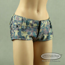 1/6 Phicen, TBLeague, Cat Toys Female Green Military Camouflage Mini Short Pants