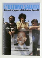 MSI L'ultimo saluto Abbraccio di popolo ad Almirante e Romualdi - Funerali 1989