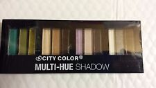 CITY COLOR MULTI-HUE SHADOW.  EYE SHADOW  SOMBRA DE OJOS . 12 COLORS  NEW
