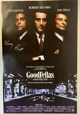 Henry Hill Signed GoodFellas 24x36 Movie Poster COA