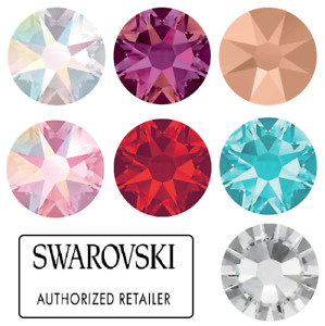 Genuine SWAROVSKI Crystals 2058 & 2088 Foiled Flat Back Rhinestones TOP SELLERS