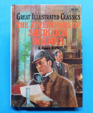 GREAT ILLUSTRATED CLASSICS~THE ADVENTURES OF SHERLOCK HOLMES 1992 BOOK NEW