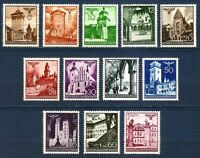 DR Nazi 3 Reich Rare WW2 Stamp Hitle's Castles Tower Church Poland Occupation GG