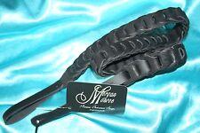 "Leather Link Black Mandolin Strap by Morgan Monroe, 1"" Wide, MDS-5-BK"