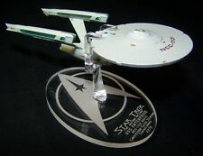 acrylic replacement display base for Eaglemoss NCC-1701 refit Star Trek MP