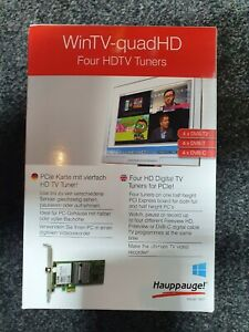 Hauppauge WinTV-quadHD Freeview Digital DVB-T/T2/C PCI-E 1080p30 - 4 Tuners