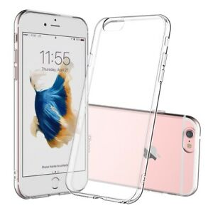 Ultra Thin Case for Apple iPhone 6 / 6s Clear Silicone Slim TPU Gel Soft Cover