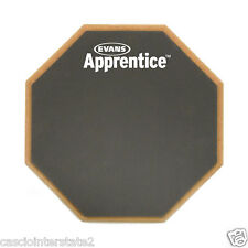 """Evans Real Feel ARF7GM Single Sided Gum Rubber Apprentice 7"""" Drum Practice Pad"""