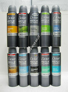 Dove Men+Care Anti-Perspirant Deodorant 150ml=5.01oz  Asst Types (pack of 3)