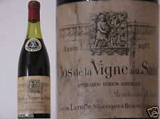 vin rouge Bourgogne CORTON 1957 Louis Latour 75cl red wine burgundy burgund wein