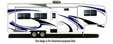 Rv, Trailer Hauler, Camper, Motor-home Large Decals/Graphics Kits 28-k