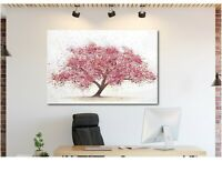 Cherry Tree Blossom Canvas Wall Art Print Home Decor