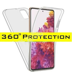 Case for Samsung Galaxy S20 S10Plus 360 Shockproof Protective Silicone TPU Cover