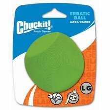 Chuckit! Dog Fetch Toy ERRATIC BALL Unpredictable Bounce Fits Launcher LARGE