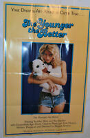 "VINTAGE 'THE YOUNGER THE BETTER' 1982 MOVIE POSTER! ADULT X-RATED! 23x36""!"