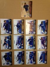 13 x CHELSEA SHOOT OUT TRADING CARDS 2005 / 2006 SEASON RED BACKS 1x shiny foil