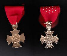 USMC BREVET MEDAL  US MARINE CORPS  MEDAL BADGE EGA EAGLE GLOBE ANCHOR LOOK NR!