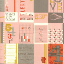 Julie Comstock Cosmo Cricket 2wenty Thr3e Love Letters Fabric in Petal 37050-12