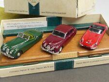 1/43 Corgi Jaguar E Type, Jaguar Mk II, Jaguar XK120 auf Holzsockel 97702