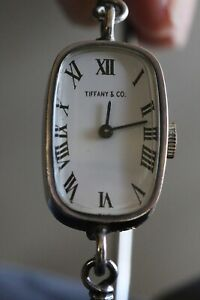 Tiffany & Co vintage sterling watch
