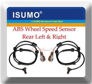 Set 2 ABS Wheel Speed Sensor Rear Left  & Right Fits:Q56 Armada Pathfinder