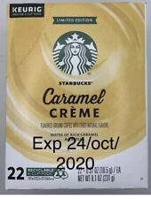 Starbucks Caramel Creme Coffee 88 K-Cup Keurig Limited Edition Exp 24/10/2020