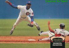 540  SHAWON DUNSTON  CHICAGO CUBS TOPPS BASEBALL CARD STADIUM CLUB 1992