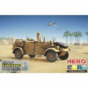 Hero Hobby H35004 1/35 Kubelwagen TYPE82 (Africa Corps + Mg34 / Fuel tank frame