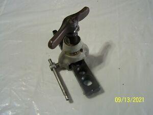 "Ridgid Model No 458 Non-Ratcheting Flaring Tool, 45 Degree SAE Flares 1/8"" - 34"""