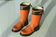 Forester 3000 Chainsaw Safety Boots EN 345 Class 3 UK 10.5 EU 45 Steel Wellies