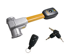 SWAT  Lenkradkralle mit Alarm Lenkradsperre + KFZ Autoalarm  1 Fernbedienung