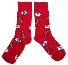 MENS THAT FISH CRAY! CRAWFISH SPEECH BUBBLE SOCKS UK 6-11 / EUR 39-45 / US 7-12