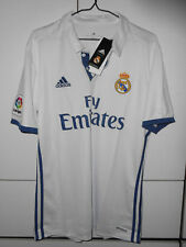 **Adidas Authentic Soccer Football Real Madrid 2016-17 Jersey Shirt Fans Home L