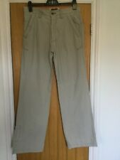 Fat Face 32 R Mens Quality Trousers. Button fly. Beige. VGC