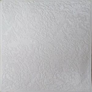 3M² Polystyrene Ceiling Tile Flame Retardant Fire Resistant Luxembourg (12 tails