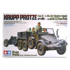 Tamiya Krupp Remolque Camión con 37mm Pak (escala 1:35) 35259 Modelo Kit Nuevo