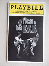 April 1998 - Laura Pels Playbill w/Ticket - A Flea In Her Ear - Mark Linn-Baker