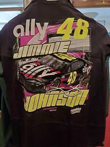 Jimmie Johnson 2020 #48 ally Camaro ZL1 Nascar Licensed T-Shirt