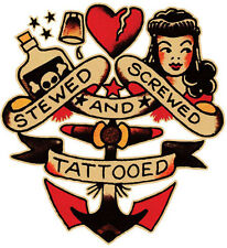 Sailor Jerry Tattoo Art 14 x 11 Photo Print
