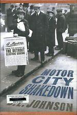 Detroit Mysteries: Motor City Shakedown 2 by D. E. Johnson (2011, Hardcover)
