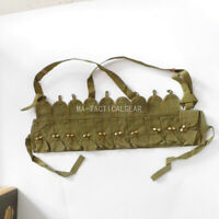 ORIGINAL GREY CHINESE SKS TYPE 56 SEMI CHEST RIG BANDOLIER POUCH POUCH SURPLUS
