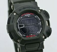 H942 Vintage Casio G-Shock Mudman Digital Quartz Watch G-9000 MOD.3031 JDM 74.4