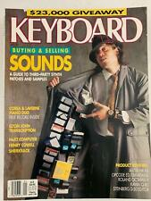 KEYBOARD MAGAZINE 1989 VARIOUS ISSUES w/ENO, Newman, Emerson, Stones, Anderson
