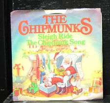 "The Chipmunks - Sleigh Ride / The Chipmunk Song Mint- 7"" Vinyl Promo JB-12354"